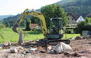 Steingarten anlegn